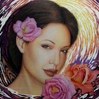 Cuadro Angelina Jolie